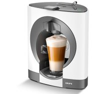 KRUPS Augstspiediena kafijas automāts ar Nescafe®Dolce Gusto® OBLO,15 bar, 0.8l, balts - KP1101 KP1101