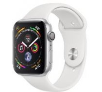 Apple Watch Series 4 GPS, 40mm Silver Aluminium Case with White Sport Band MU642ZP/A