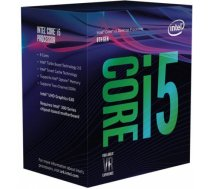 Intel CPU CORE I5-8400 S1151 BOX/2.8G BX80684I58400 S R3QT IN BX80684I58400SR3QT