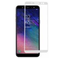 Swissten Ultra Durable 3D Japanese Tempered Glass Premium 9H Aizsargstikls Samsung A600 Galaxy A6 (2018) Balts SAMSUNG A600 GALAXY A6 (2018)