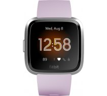 Fitbit Versa Lite Fitness Tracker FB415SRLV LCD, Lilac/Silver Aluminum, Touchscreen, Bluetooth, Built-in pedometer, Heart rate monitor, Waterproof FB415SRLV