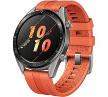 HUAWEI WATCH GT GREY WITH ORANGE RUBBER STRAP 55023722