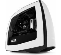 NZXT Manta Side window, Black, White, ITX-Tower, Power supply included No CA-MANTW-W1
