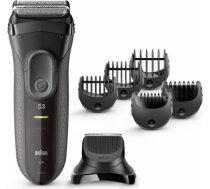 Braun 3000BT Black Shaver+Trimmer