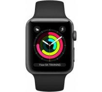 Apple Watch Series 3 42mm Aluminium Case with Black Sport Band MTF32EL/A Black MTF32EL/A