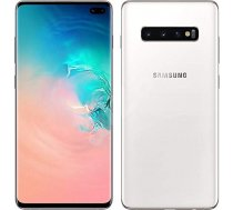 "Samsung Galaxy S10 Dual SIM Prism White 6.1"" Dynamic AMOLED 1440x3040/2.73GHz&2.31GHz/128GB/8GB RAM/Android 9.0/microSD/WiFi//// S10/PRISM WHITE/128GB"