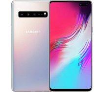 """Samsung Galaxy S10 Dual SIM Silver 6.4"""" Super AMOLED 1440x3040/2.0GHz&2.73GHz/128GB/8GB RAM/Android 9.0/microSD/WiFi-// S10/SILVER/128GB"""