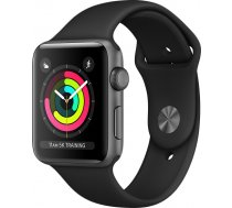 Apple Watch Series 3 42mm Aluminium Case with Black Sport Band MTF32EL/A Black MTF32EL/A