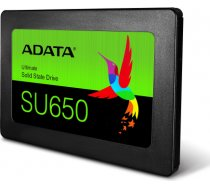 ADATA Ultimate SU650 120 GB, SSD interface SATA, Write speed 320 MB/s, Read speed 520 MB/s ASU650SS-120GT-R