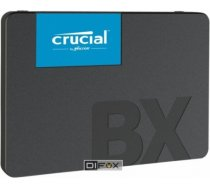 Crucial SSD|CRUCIAL|BX500|120GB|SATA 3.0|Write speed 500 MBytes/sec|Read speed 540 MBytes/sec|2,5"