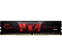 G.skill Memory DDR4 8GB Aegis 3000MHz CL16 - F4-3000C16S-8GISB
