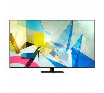 """Samsung Series 8 QE75Q80TAT 190,5 cm (75"""") 4K Ultra HD Viedtelevizors Wi-Fi Melns, Sudrabs"""