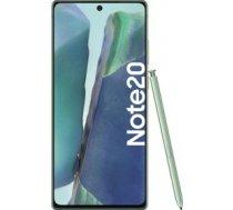 Samsung Galaxy Note20 5G - 6.7 - 256GB  Android (Green  Dual SIM  8 GB DDR 5) ( SM N981BZGGEUB SM N981BZGGEUB SM N981BZGGEUB ) Mobilais Telefons