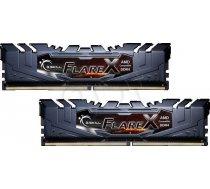 G.Skill FlareX Black 16GB DDR4 Kit 3200 CL15 (2x 8GB Module) ( F4 3200C14D 16GFX F4 3200C14D 16GFX F4 3200C14D 16GFX ) operatīvā atmiņa