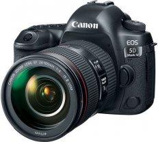 Lustrzanka Canon EOS 5D Mark IV + 24-105mm f/4L IS II USM 5672279 ( JOINEDIT18876141 ) Spoguļkamera SLR