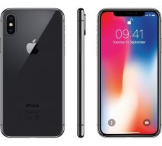 Apple iPhoneX 256GB Space Grey ( MQAF2 MQAF2ZD/A 20901 702858 iPhone X 256GB space grey MQAF2 MQAF2B/A MQAF2CN/A MQAF2ET/A MQAF2FS/A MQAF2PM/A MQAF2QN/A MQAF2ZD/A TKOAPPSMA0305 ) Mobilais Telefons