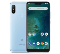 Xiaomi Mi A2 LITE 4GB/64GB blue (Atjaunots  garantija 12 mēneši) ( MZB6409EU REF PN100591 ) Mobilais Telefons