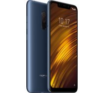 XIAOMI Pocophone F1 6GB/64GB Blue (Atjaunots  garantija 1 gads) ( MZB6717EU REF MZB6717EU/FR ) Mobilais Telefons