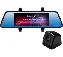 Car Video Recorder PRESTIGIO RoadRunner MIRROR (Front: FHD 1920x1080@30fps Rear: VGA640x480@30fps  6.86 inch screen  MSC8328P  4 MP CMOS GC2 ( PCDVRR405DL PCDVRR405DL ) videoreģistrātors