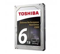 """Toshiba X300 HDD 3.5"""" 6TB  SATA 6Gbit/s ( HDWE160EZSTA HDWE160EZSTA HDWE160EZSTA ) cietais disks"""