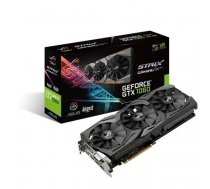 Graphics Card  ASUS  NVIDIA GeForce GTX 1060  6 GB  192 bit  PCIE 3.0 16x  GDDR5  Memory 8008 MHz  GPU 1518 MHz  Dual Slot Fansink ( STRIX GTX1060 A6G GAMING STRIX GTX1060 A6G GAMING ) video karte