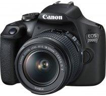 Canon EOS 2000D Kit + EF-S 18-55 IS II ( 2728C003 2728C003 ) Spoguļkamera SLR