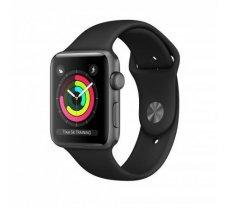 Apple Watch Series 3 GPS 38mm Grey Alu Black Sport Band ( MTF02ZD/A MTF02ZD/A MTF02 MTF02EL/A MTF02FS/A MTF02GK/A MTF02MP/A MTF02ZD/A MTF02ZP/A ) Viedais pulkstenis  smartwatch