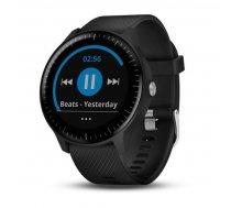 Garmin Vivoactive 3 Music (Black with Stainless Hardware) ( 010 01985 03 010 01985 03 ) Viedais pulkstenis  smartwatch
