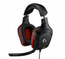 Logitech Gaming Headset G332 Symmetra - Black/Red - 3.5 MM  Leatherette ( 981 000757 981 000757 ) austiņas