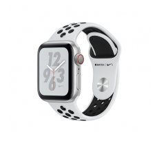 Apple Watch Nike+ Series 4 GPS Cell 40mm Silver Alu Nike Band ( MTX62FD/A MTX62FD/A MTX62B/A MTX62FD/A MTX62WB/A ) Viedais pulkstenis  smartwatch