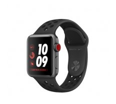 Apple Watch Nike+ Series 3 GPS Cell 38mm Grey Alu Nike Band ( MTGQ2ZD/A MTGQ2ZD/A MTGQ2ZD/A ) Viedais pulkstenis  smartwatch