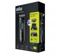 Braun Series 3 - 3000BT Shave  Style 3-in-1 ( 3000BT 3000BT 151500 3000 BT 3000BT 6631 ) matu  bārdas Trimmeris