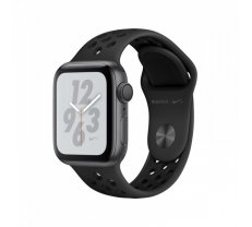 Apple Watch Series 4 GPS Nike+ 40mm Space Grey ( MU6J2 MU6J2FD/A MU6J2 MU6J2EL/A MU6J2FD/A MU6J2GK/A mu6j2hc/a MU6J2UA/A MU6J2WB/A MU6J2ZP/A ) Viedais pulkstenis  smartwatch
