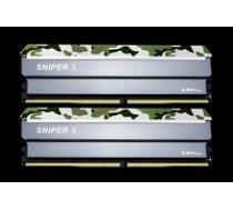 G.Skill Sniper X 16GB DDR4 16GSXFB Kit 3200 CL16 (2x8GB) F4-3200C16D-16GSXFB ( F4 3200C16D 16GSXFB F4 3200C16D 16GSXFB F4 3200C16D 16GSXFB ) operatīvā atmiņa