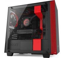 NZXT H400 Black/Red Window - microATX ( CA H400B BR CA H400B BR CA H400B BR ) Datora korpuss