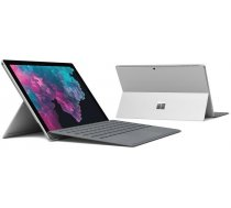 "Microsoft Surface Pro 6 Platinum + Type Cover black keyboard (12""/i5-8250U/8GB/128GB SSD/Win10 ( LGP 00004+FMM 00013 LGP 00004 LGP 00004+FMM 00013 ) Portatīvais dators"
