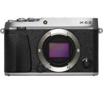 Fujifilm X-E3 korpuss  sudrabots 4547410357356 16558463 ( JOINEDIT19516714 ) Digitālā kamera