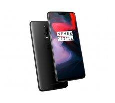 OnePlus 6 6/64GB DualSim Mirror Black ( 5011100385 5011100385 OnePlus 6 A6003 Mirror black ) Mobilais Telefons
