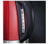 Electrolux Kettle EEWA7700R With electronic control  Stainless steel  Watermelon Red  2400 W  360° rotational base  1.7 L ( EEWA7700R EEWA7700R ) Virtuves piederumi