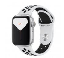 Apple Watch Nike Series 5 GPS 40mm Alu Case Silver/Black Band ( MX3R2FD/A MX3R2FD/A MX3R2 MX3R2EL/A MX3R2FD/A MX3R2GK/A MX3R2UL/A MX3R2WB/A ) Viedais pulkstenis  smartwatch