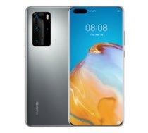 Huawei P40 Pro 8GB/256GB Silver ( 51095CAL 51095CAL P40Prosilver ) Mobilais Telefons