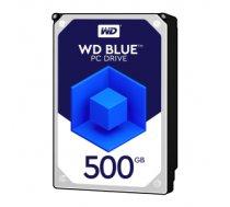 WESTERN DIGITAL 500GB BLUE 64MB 3.5IN SATA 6GB/S 5400RPM WD5000AZRZ ( JOINEDIT20894713 ) cietais disks