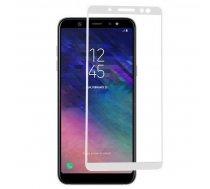 Swissten Ultra Durable 3D Japanese Tempered Glass Premium 9H Aizsargstikls Samsung A600 Galaxy A6 (2018) Balts SW-TG-3D-A600-WH ( JOINEDIT18001845 ) aizsardzība ekrānam mobilajiem telefoniem