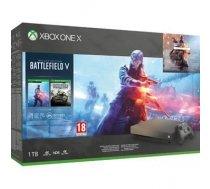 Microsoft Xbox One X 1TB + Battlefield V + Battlefield 1 Revolution + Battlefield 1943 ( FMP 00032 FMP 00032 ) spēļu konsole