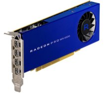 AMD Radeon Pro WX 4100  4096 MB GDDR5  4x mini DP - Low Profile ( 100 506008 100 506008 100 506008 ) video karte