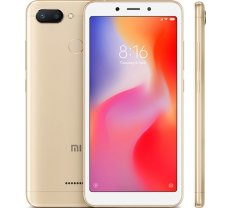 XIAOMI Redmi 6 3GB/32GB Gold ( MZB6363EU PN100584 19007 BAL 24654 4141865 6941059606031 703711 M1804C3DG 32GB GLD MZB6363EU REDMI 6 32GB GOLD Redmi 6 Dual gold T MLX27498 XIAOMIREDMI6GD ) Mobilais Telefons