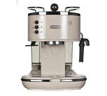 Delonghi ICONA Vintage Coffee maker ECO311.BG  Pump pressure 15 bar  Built-in milk frother  Espresso maker  1100 W  Beige ( ECOV311.BG ECOV311.BG 0132106084 ECOV 311. BG ECOV 311.BG ECOV311.BG ) Virtuves piederumi