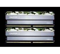 G.Skill Sniper X 32GB DDR4 32GSXF Kit 2400 CL17 2x16GB) F4-2400C17D-32GSXF ( F4 2400C17D 32GSXF F4 2400C17D 32GSXF F4 2400C17D 32GSXF ) operatīvā atmiņa
