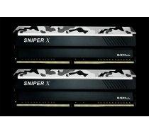 G.Skill Sniper X 16GB DDR4 16GSXW Kit 2400 CL17 (2x8GB) F4-2400C17D-16GSXW ( F4 2400C17D 16GSXW F4 2400C17D 16GSXW F4 2400C17D 16GSXW ) operatīvā atmiņa