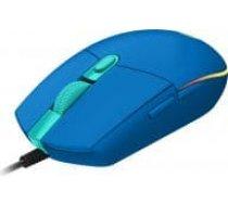 LOGITECH G203 LIGHTSYNC Gaming Mouse - BLUE - USB - EMEA - G203 LIGHTSYNC ( 910 005798 910 005798 ) Datora pele